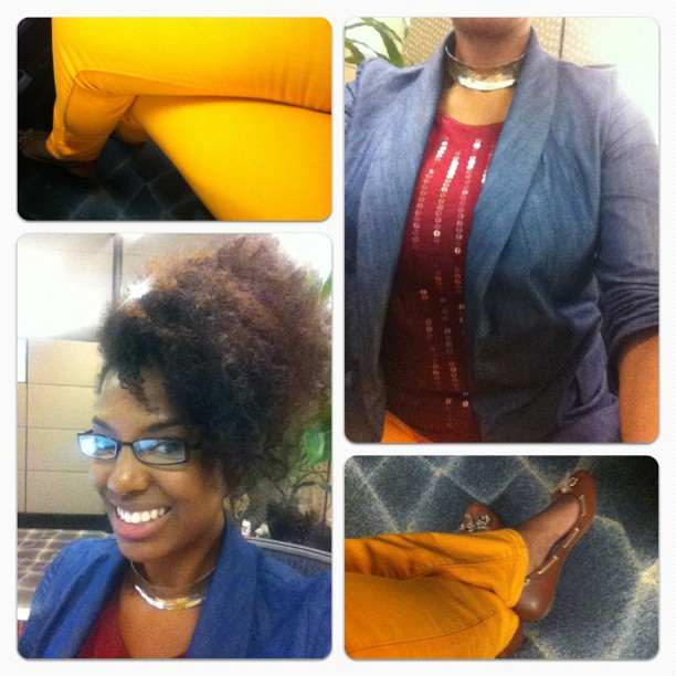 OOTD: Color at Work